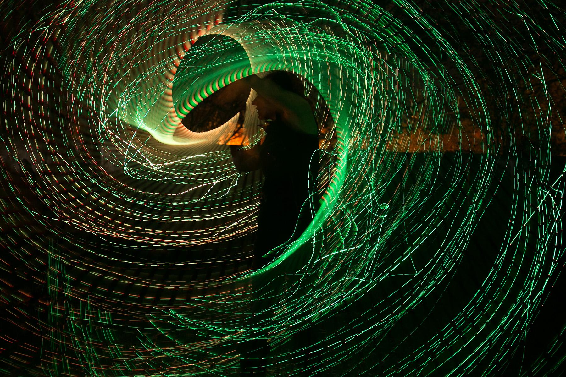 Зелёный вихрь. Анастасия Хромышева