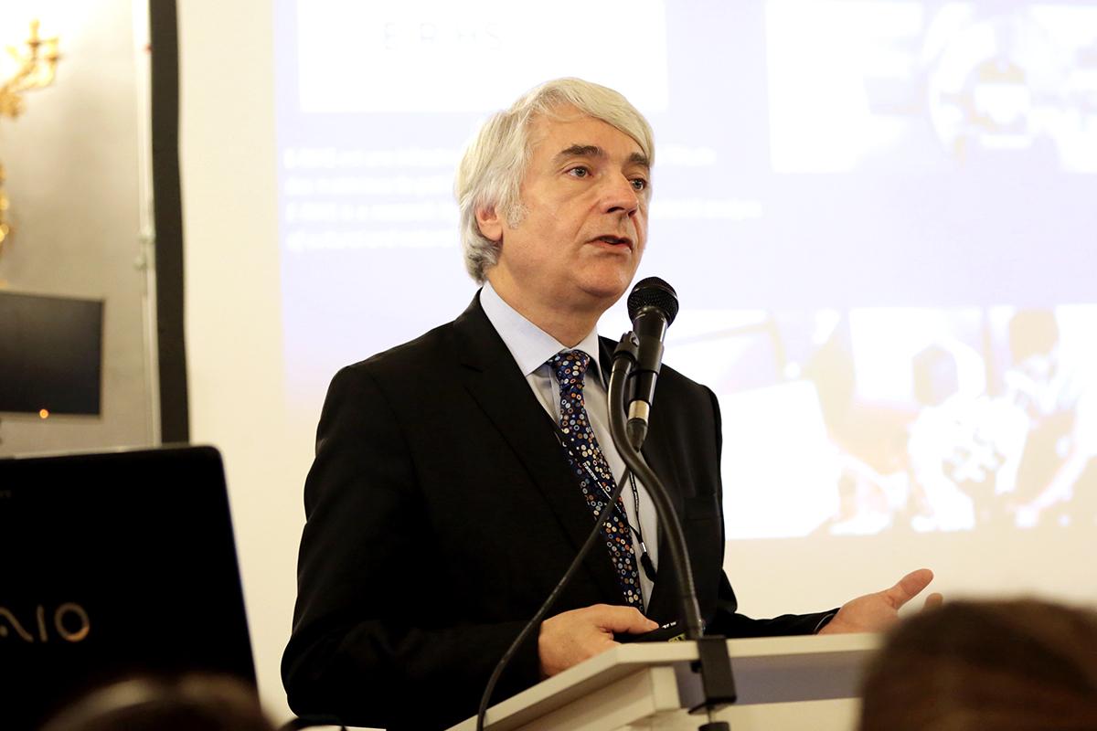 Руководитель департамента управления исследованиями и научной политики генеральной дирекции наследия Министерства культуры Франции Паскаль Льево