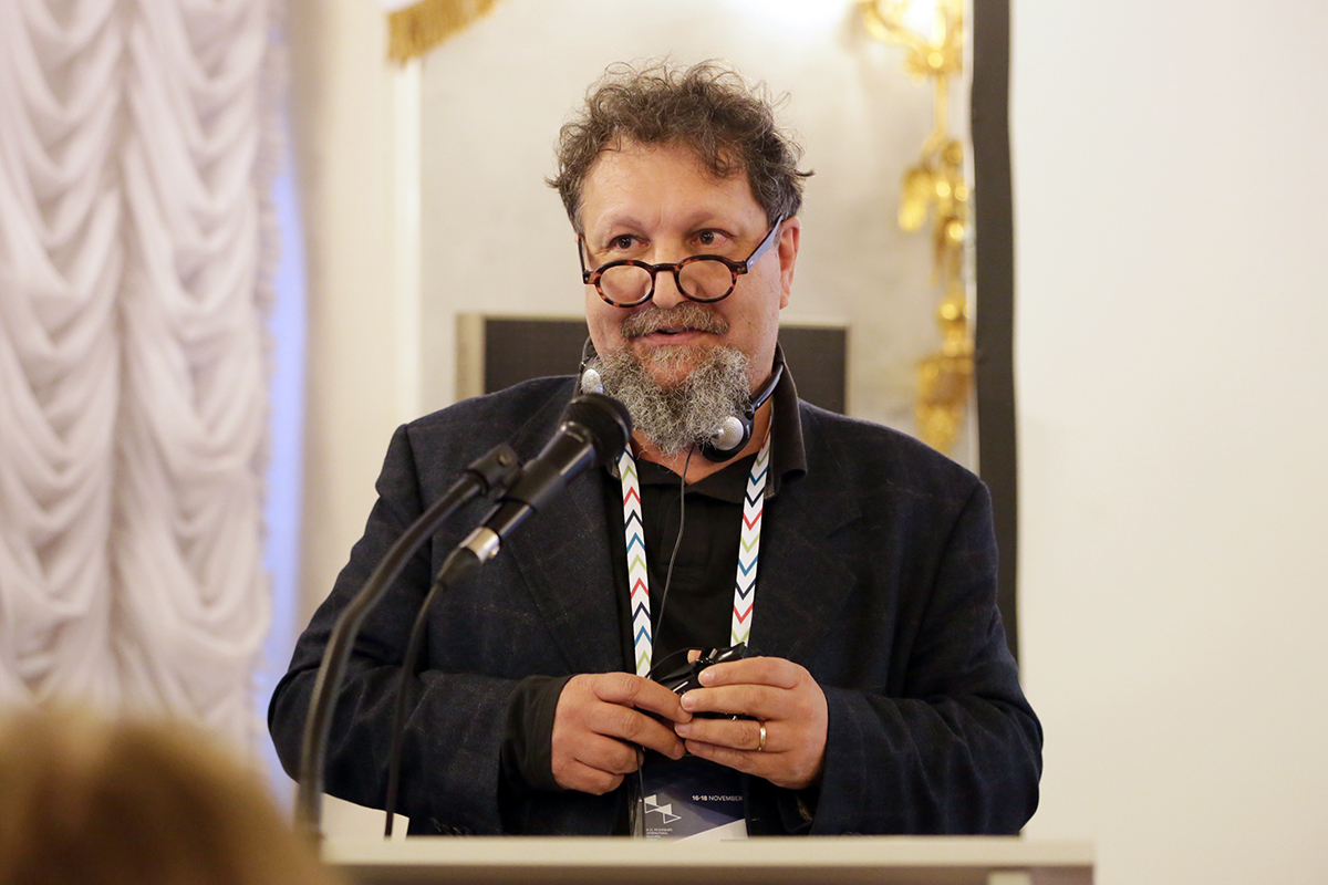 Директор лаборатории картографии и пространственного анализа факультета архитектуры Университета Флоренции профессор Фабио Луккези