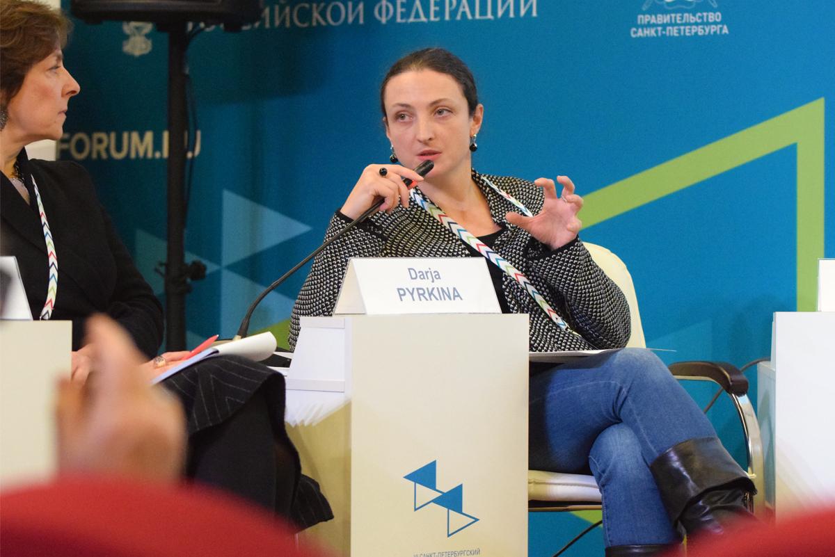 Руководитель отдела образовательных программ Государственной Третьяковской галереи Дарья Пыркина