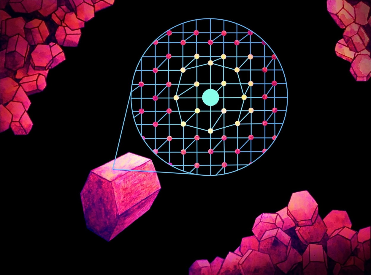 Причина усиления интенсивности люминесценции — возникновение дефектов в структуре при замещении ионов иттрия на более крупные ионы гадолиния