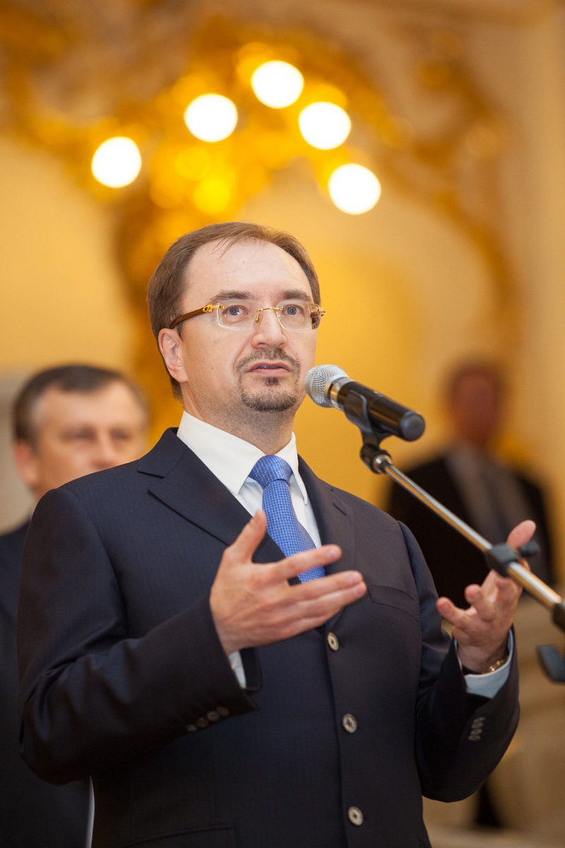 Ректор СПбГУ Николай Михайлович Кропачев