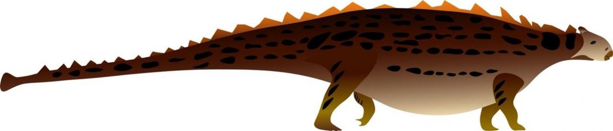 Как мог выглядеть анкилозавр Bissektipelta archibaldi. Изображение предоставлено пресс-службой СПбГУ.