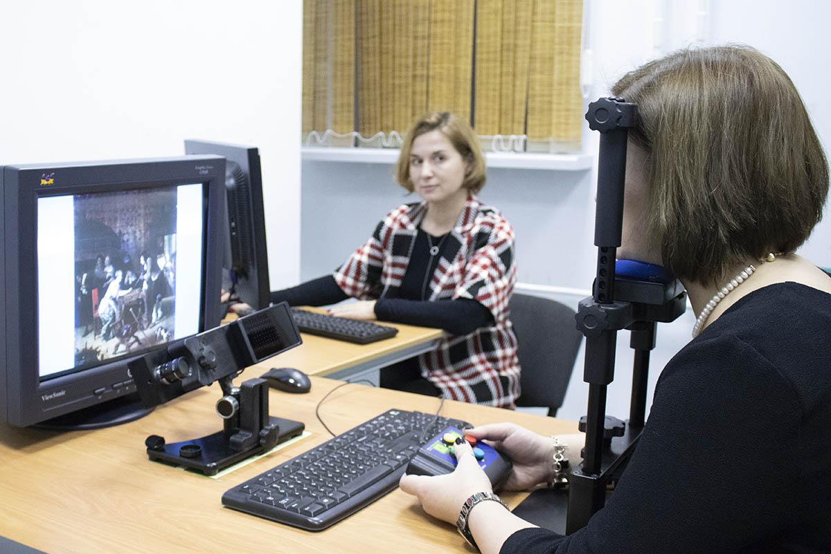 В лаборатории когнитивных исследований