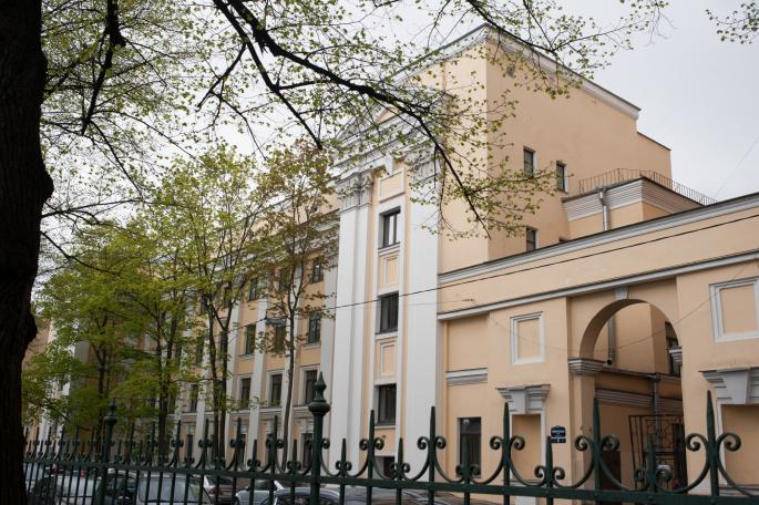 Здание СПбГУ по адресу Санкт-Петербург, ул. Таврическая, д. 21–23–25
