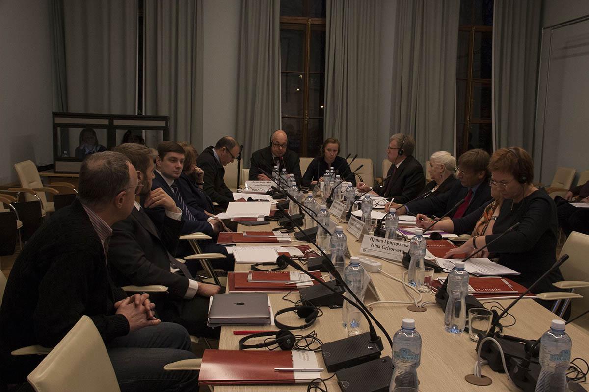 Участники заседания совета программы в Петербурге