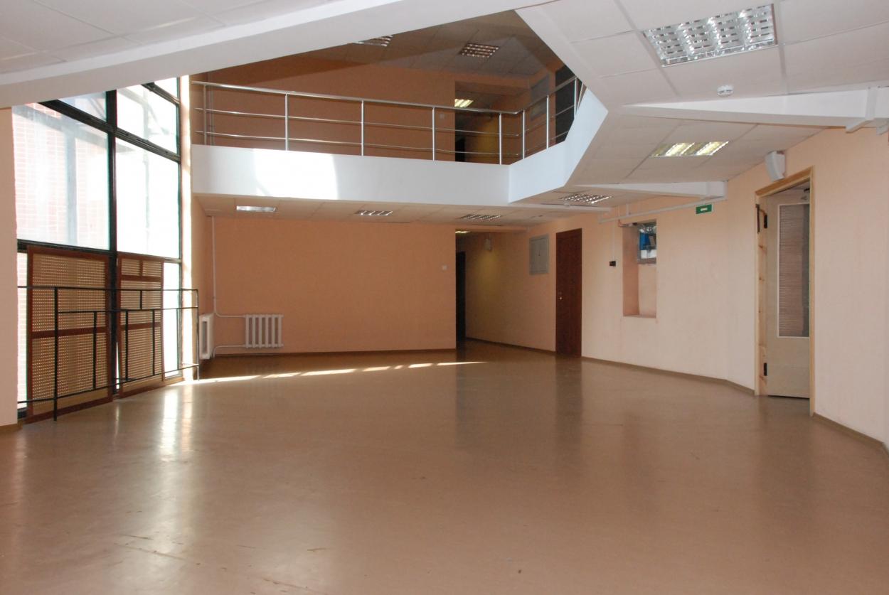 Холл общежития Петродворцового кампуса