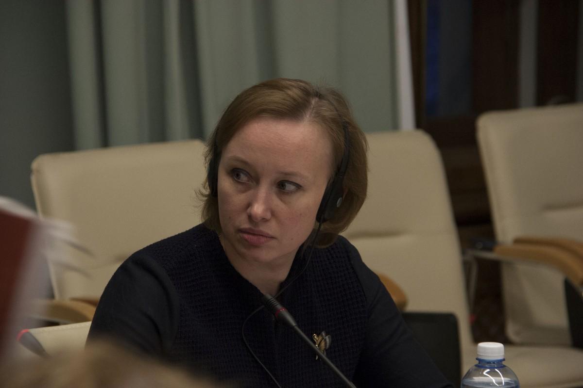 Первый проректор по учебной, внеучебной и учебно-методической работе СПбГУ Екатерина Бабелюк