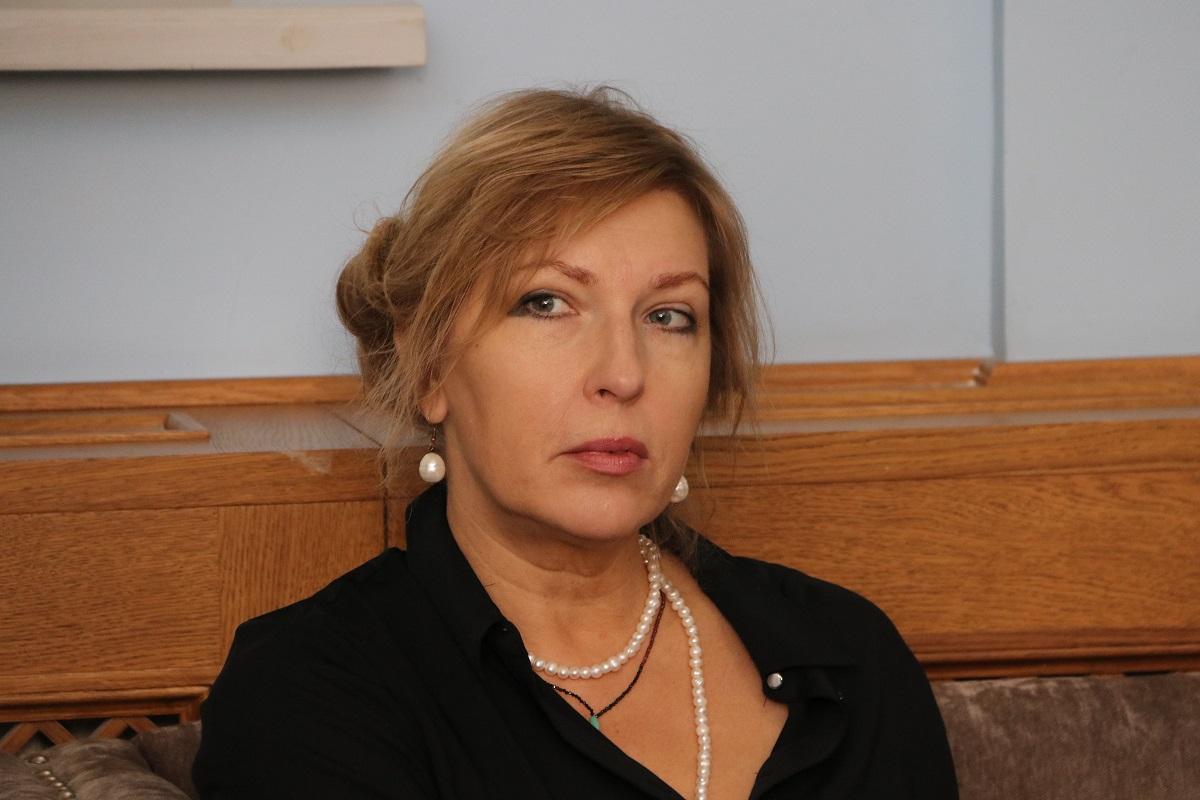 Член совета программы, заведующая отделом кино- и медиаискусства  ГМИИ имени А. С. Пушкина Ольга Шишко