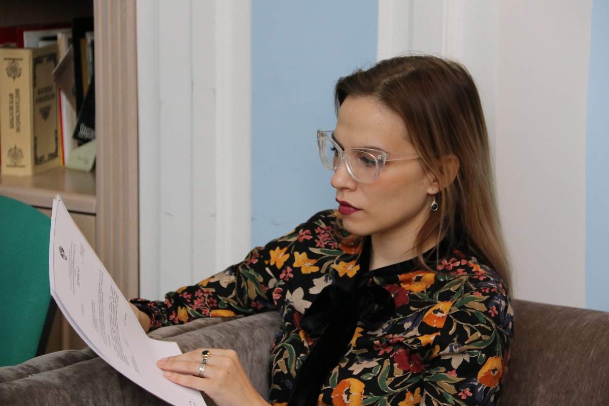 Заместитель начальника Управления образовательных программ СПбГУ Елена Меньщикова