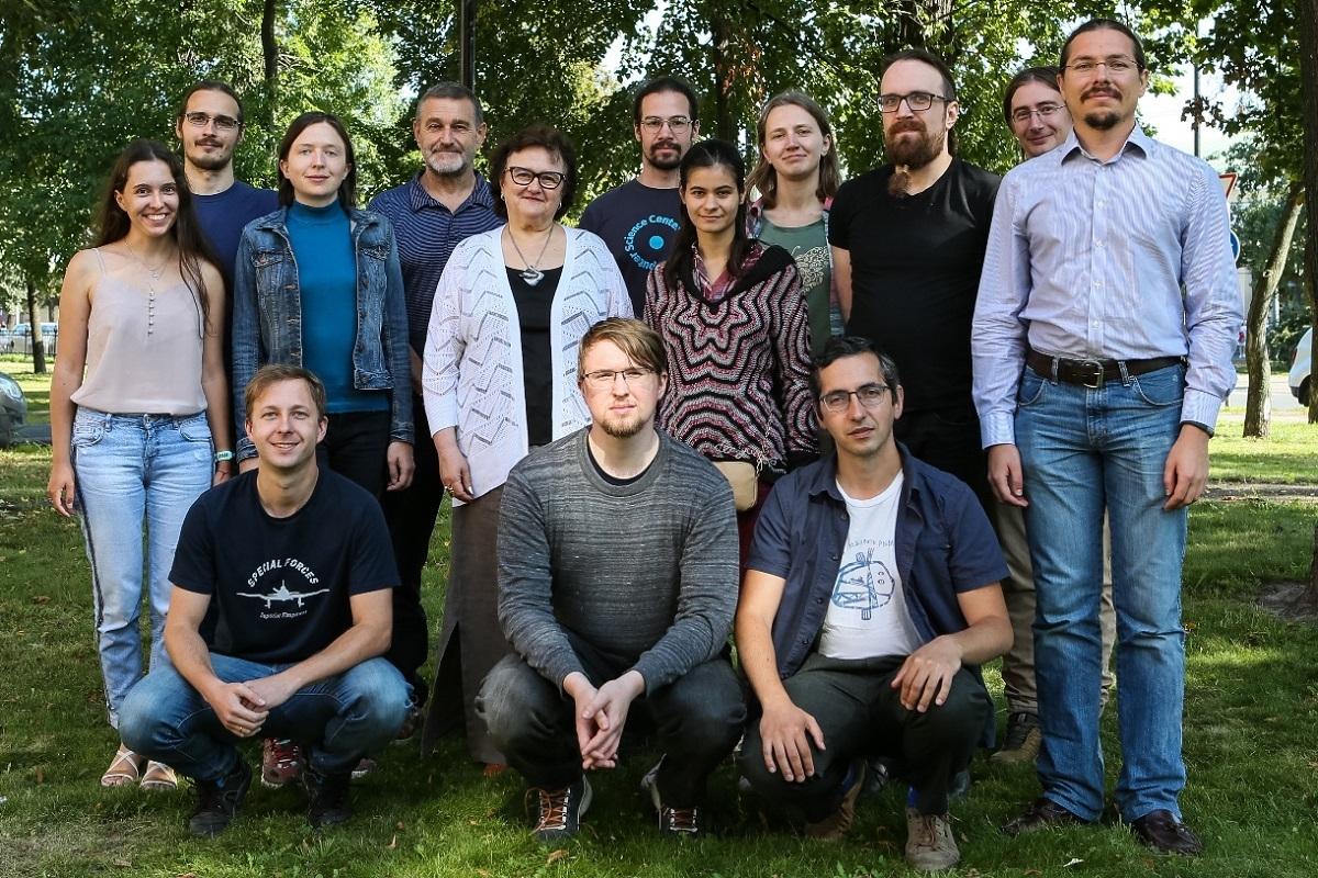 коллектив лаборатории «Центр алгоритмической биотехнологии СПбГУ»