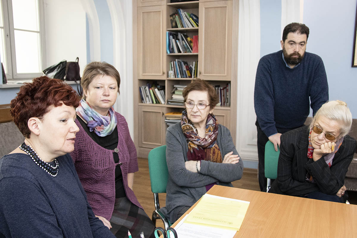 Заседание совета программы «Музыкальная критика»