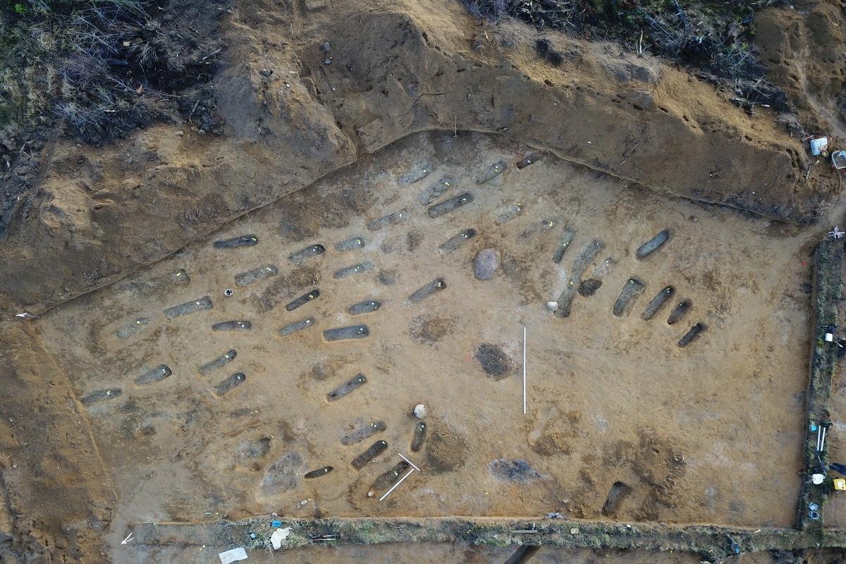 Раскопки могильника Большое Стремление