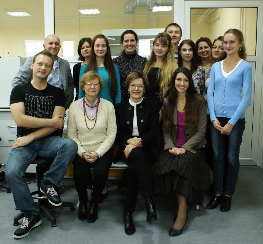 Коллектив межкафедральной лаборатории биомедицинской химии