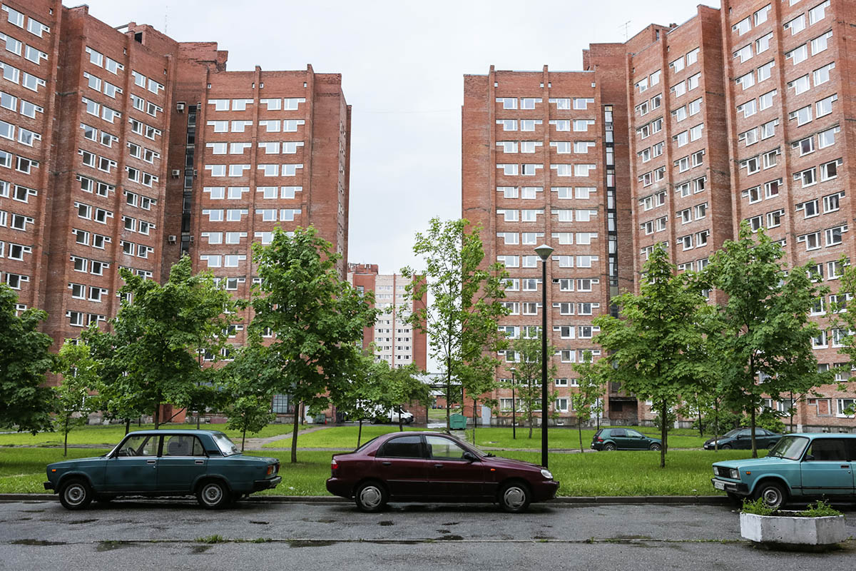 Общежития в Петродворцовом кампусе